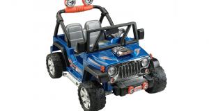 Jeep motorisé 2 places pour enfant
