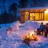 Séjour hivernal dans un parc national de la Sépaq