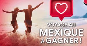 Voyage au Mexique OU 2 000 $ en crédit-voyage Sunwing