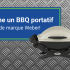 BBQ portatif de marque WEBER