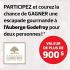Escapade pour deux à l'Auberge Godefroy (Valeur de 900$)