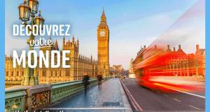 Gagnez un voyage pour 2 en Angleterre (Valeur de 5000 $)