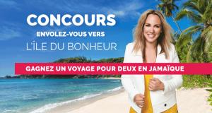 Gagnez un voyage pour deux personnes en Jamaïque