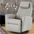 Un fauteuil VIA berçant pivotant et inclinable (Valeur de 3000$)