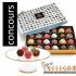 Une boîte de 24 truffes à dessert de chez Godiva