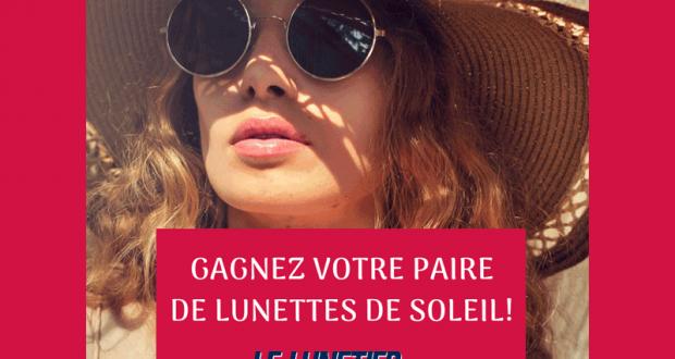 Une paire de lunettes de soleil chez Le Lunetier Repentigny