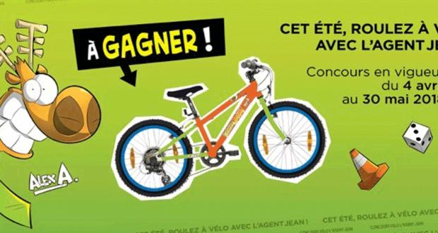 3 Vélos à l'effigie de l'Agent Jean