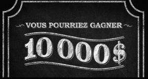 Gagnez 1 000 $ pendant 10 ans