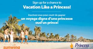 Gagnez des vacances pour deux personnes sur la Riviera Maya