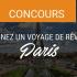 Gagnez un Voyage à Paris pour 2 personnes (Valeur de 5000$)
