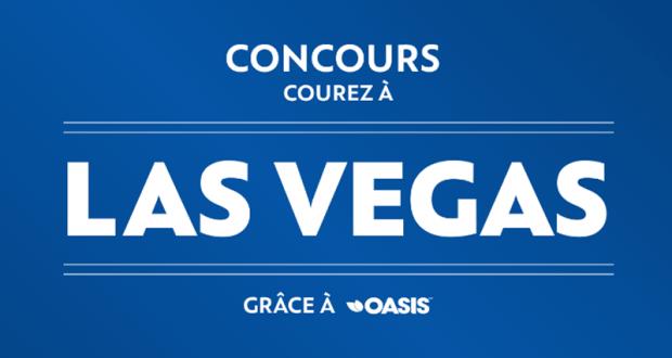 Gagnez un voyage pour deux à Las Vegas (Valeur de 5654$)