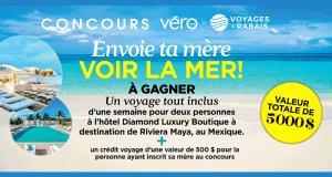 Gagnez un voyage tout inclus d'une semaine à Riviera Maya