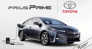 Gagnez une location de 2 ans d'une Toyota Prius Prime hybride 2019