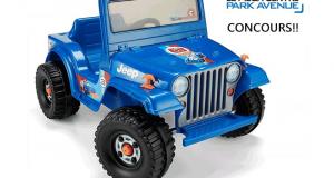 Un jouet porteur Hot Wheels Jeep Wrangler