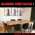 Une table offerte par l'Atelier Bleu de Plume