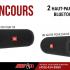 2 haut-parleurs bluetooth JBL pour toi et l'un de tes amis