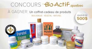 Coffret-cadeau de produits Bio-Actif d'une valeur de 500$