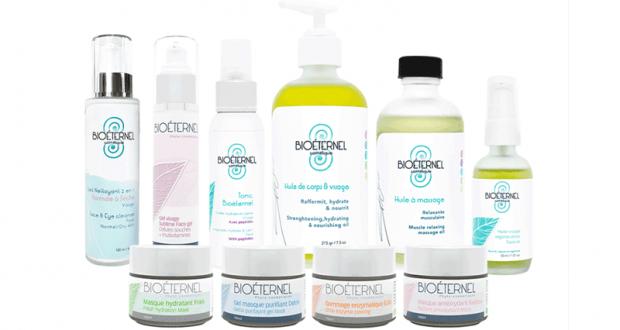 Coffret de 10 produits de soin bio sensoriel et anti-âge