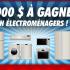 Gagnez 2000 $ en Électroménagers chez Éconoplus