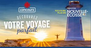Gagnez un voyage pour 2 personnes en Nouvelle-Écosse