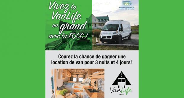 Location de Van pour 4 jours et une carte d'un an la FQCC