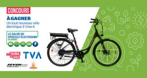 Un vélo électrique E-One 6 d'une valeur de 1 700$