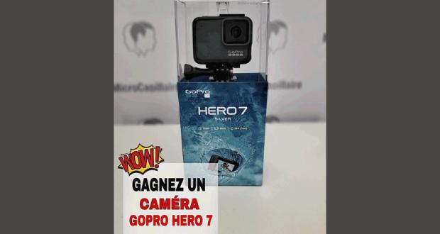 Une CAMÉRA GO PRO HERO 7 d'une valeur de 400$