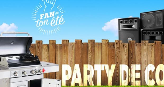 Gagnez un Party de cours incluant un BBQ tout neuf