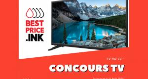 Gagnez un téléviseur HD 32