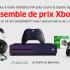 Un ensemble de prix Xbox (1000$)