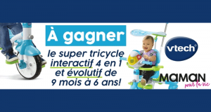 Un super tricycle interactif de Vtech