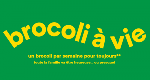 25 ans de brocoli chez Super C (Valeur de 3000 $)