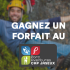5 Forfaits au Parc Aventures Cap Jaseux