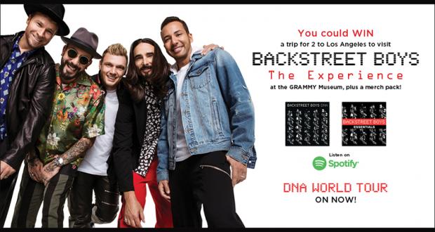 Gagnez un Voyage pour 2 à Los Angeles pour voir Backstreet Boys