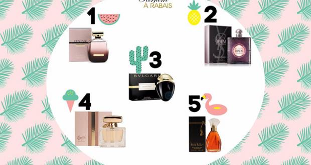 Gagnez une des ces 5 fragrances féminines