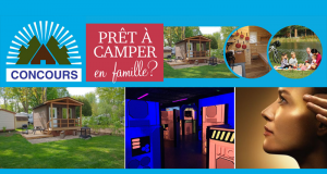 Gagnez une semaine de vacances en famille dans un prêt à camper