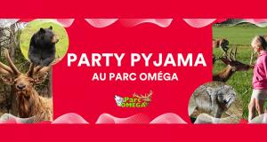 Party pyjama familial de luxe au Parc Oméga
