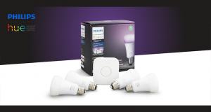 Un ensemble de démarrage d'ampoules intelligentes Philips Hue