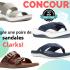 Une paire de sandales Clarks