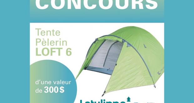 Une tente de marque Pèlerin