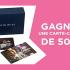 2 carte-cadeaux Souris Mini de 500$