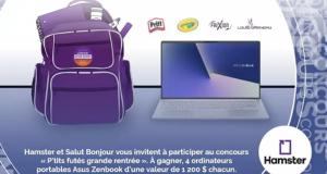 4 Ordinateurs portables Asus Zenbook de 1200$ chacun