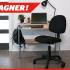 Bureau d'ordinateur et Chaise de bureau