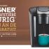 Gagnez 1 des 10 Cafetières Keurig avec un an de café
