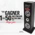 Gagnez 1 des 1500 haut-parleurs de type tour