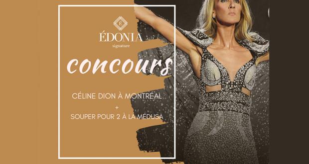 Souper Spectacle pour deux pour voir Céline Dion