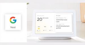 Un appareil Google Nest Hub