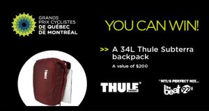 Un sac Thule SUBTERRA d'une valeur de 200 $