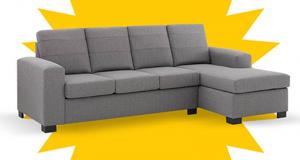 Un sofa modulaire offert par EconoMax