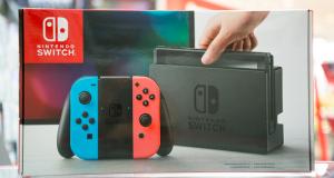 Une Console de jeu Nintendo Switch